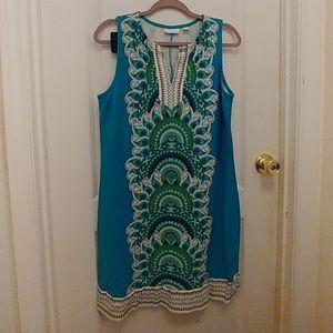 New York & Co Paisley dress